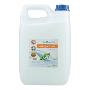 Mydło antybakteryjne CLEAN PRO, 5 l, białe