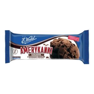 Ciastka AMERYKANKI, kakaowe, 126 g