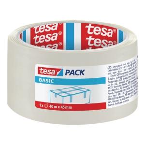 TESA PACK TAPE PP ACRYL 45MMX40M TRANSP