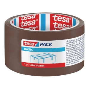 TESA PACK TAPE PP ACRYL 45MMX40M BROWN