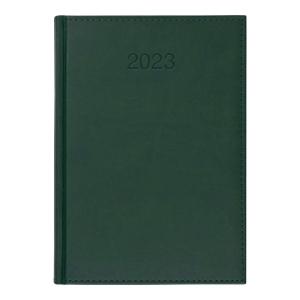 Kalendarz CRUX Vivo, A5, dzienny, zielony