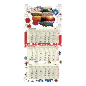 CRUX 3PART CAL FLAT FLOWERS