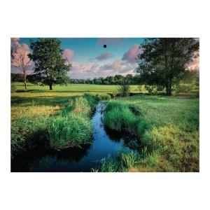 Kalendarz trójdzielny CRUX, wypukły, Bałtyk