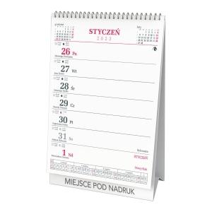 Kalendarz CRUX, 12,5 X 19,7 CM, biurkowy, pionowy