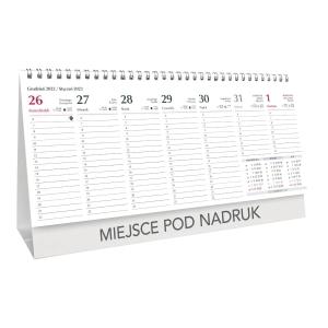Kalendarz CRUX, 29,5 X 15,5 CM, biurkowy, poziomy