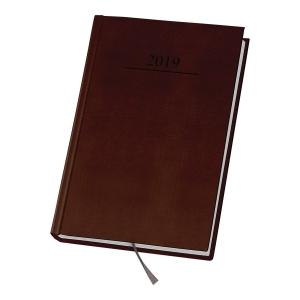 Kalendarz DAN-MARK Agenda A4, dzienny, brązowy
