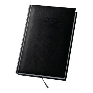 Kalendarz DAN-MARK Agenda A4, dzienny, czarny