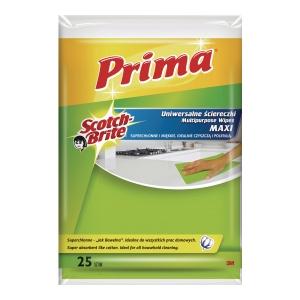 Ściereczki PRIMA Jak bawełna, 25 sztuk