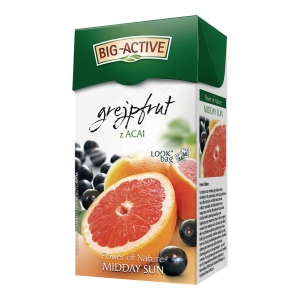 PK20 BIG ACTIVE TEA BAGS GRAPEFRUIT