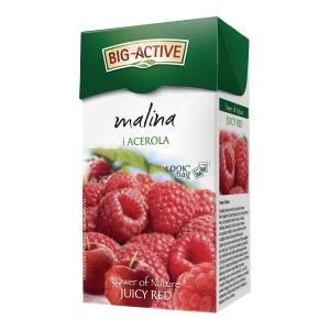 Herbata owocowa BIG-ACTIVE malina z Acerolą, 20 torebek