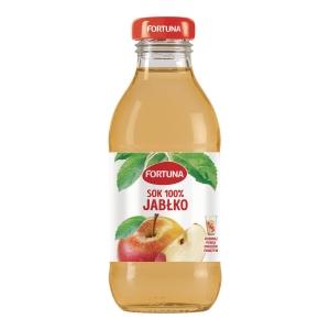 Sok jabłkowy FORTUNA, 15 butelek x 0,3 l