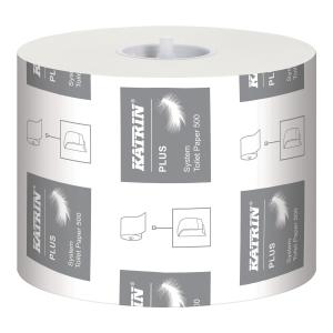 Papier toaletowy KATRIN 968 System Plus, 36 rolek*