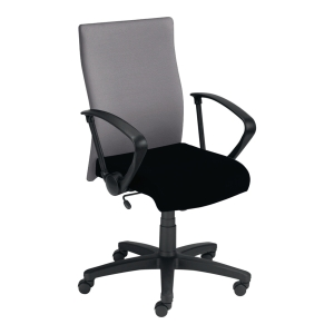 Krzesło NOWY STYL Dexter, szaro-czarne