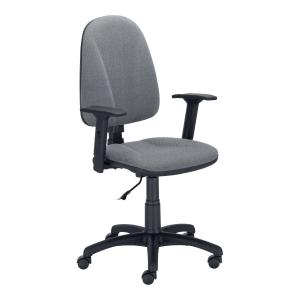 Krzesło NOWY STYL Premium Ergo z regulowanymi podłokietnikami, szare
