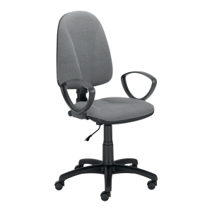 PREMIUM ERGO CHAIR FIXED ARMRESTS GRY