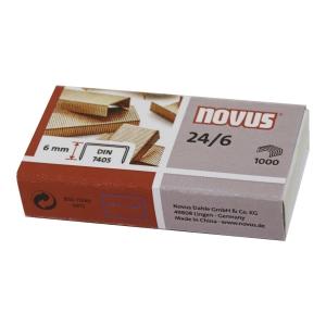 BX1000 NOVUS STAPLES 24/6 COPPER