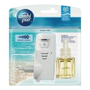 Elektryczny odświeżacz potwietrza AMBIPUR z wkładem Ocean Mist, 20 ml
