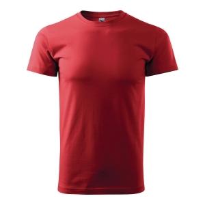 Koszulka ADLER BASIC, czerwona, rozmiar L