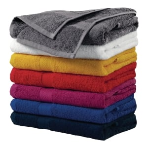 Ręczniki ADLER, żółty, 50x100 cm