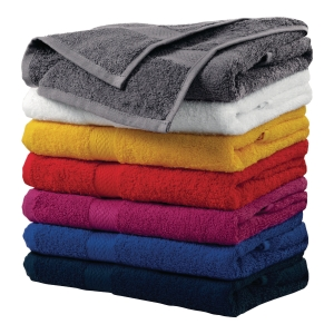 Ręczniki MALFINI, szaro-czarny, 50x100 cm