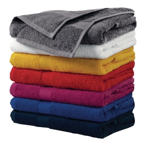 Ręcznik MALFINI, szaro-czarny, 70x140 cm