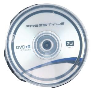 Płyty DVD+R FREESTYLE 56682 4,7GB 16x cake, opakowanie 25 sztuk