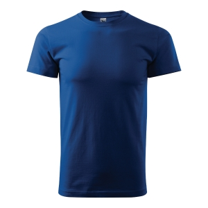 Koszulka ADLER BASIC, chabrowa, rozmiar XL