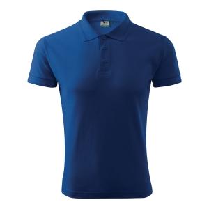 Koszulka polo MALFINI POLO PIQUE, chabrowa, rozmiar XL