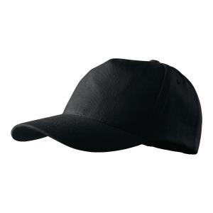 Czapka MALFINI 307 5P, czarna