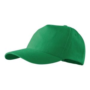 Czapka MALFINI 307 5P, zieleń trawy