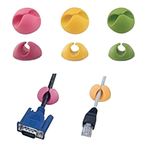 PK6 ESPERANZA EBA101M CABLE CLIPS MIX