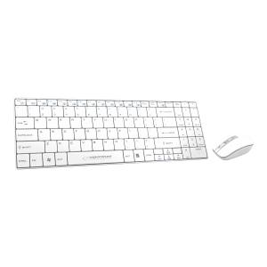 Zestaw ESPERANZA klawiatura + mysz LIBERTY, biały