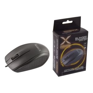 EXTREME XM110K BUNGEE MOUSE BLACK