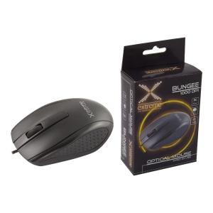 Mysz przewodowa XM110K BUNGEE, czarna