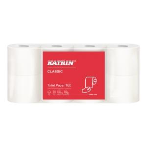 Papier toaletowy KATRIN CLASSIC 160, 16 rolek