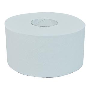 Papier toaletowy CLIVER JUMBO, biały, 130/1, 12 rolek