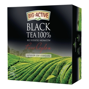 PK100 BIC ACTIVE PURE CEYLON BLACK TEA
