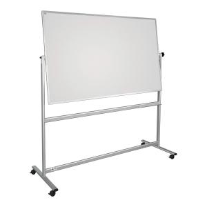 Tablica obrotowo-jezdna 2x3 z powierzchnią lakierowaną, 180 x 120 cm