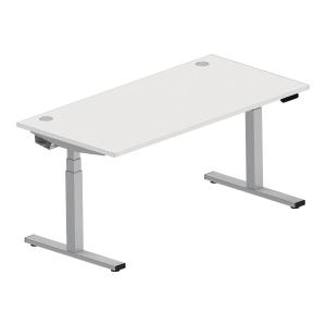 Biurko NOWY STYL z regulowaną wysokością 180 x 80 cm, białe*