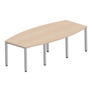 Stół konferencyjny NOWY STYL 72 x 240 x 120 cm, klon*