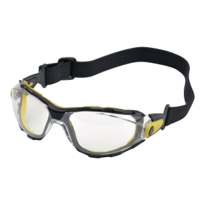 Okulary DELTA PLUS PACAYA CLEAR STRAP, soczewka bezbarwna, filtr UV 2C-1,2