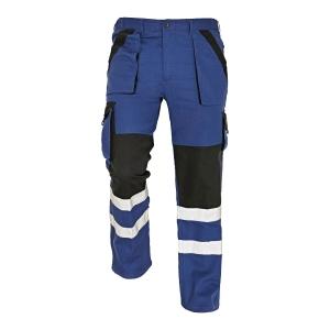 Spodnie CERVA MAX REFLEX, niebiesko-czarne, rozmiar 50