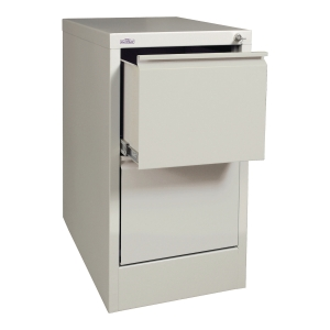 METALKAS 2-DRAWER FILING CABINET GRY