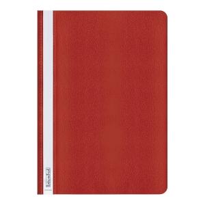 Skoroszyt miękki BIURFOL polipropylenowy A4, czerwony