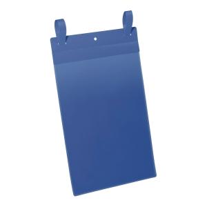 Kieszeń magazynowa DURABLE z paskami, pozioma, w opakowaniu 50 sztuk