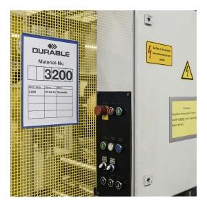 Magnetyczne kieszenie magazynowe DURABLE 297X210, opakowanie 50 szt.*