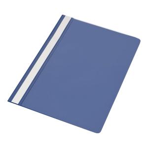 Skoroszyt PANTA PLAST, PCV, bez perforacji, A4, niebieski