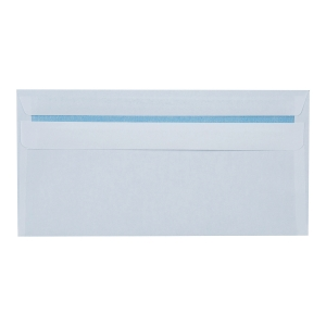Koperty samoklejące DL RAYAN 1220688, białe, 50 sztuk