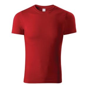 Koszulka T-shirt PICCOLIO PAINT P73, czerwona, rozmiar XL