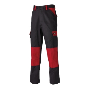 DICKIES EVERYDAY24/7 TROUSER 56 BLK/RED